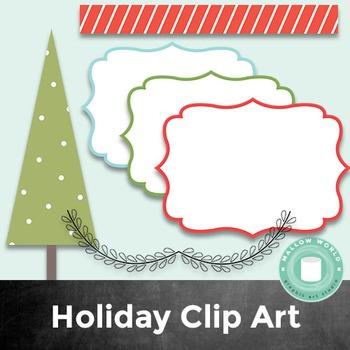 Christmas Clip Art: Holiday Clipart