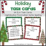 Holiday ELA Task Cards