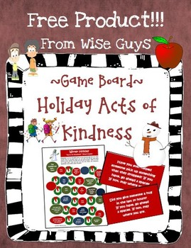 https://www.teacherspayteachers.com/Product/Holiday-Game-Board-Acts-of-Kindness-Theme-Cooperative-Activity-974382