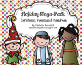 Holiday Mega-Pack {Christmas, Hanukkah, Kwanzaa}
