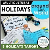 Holidays Around the World Common Core Aligned