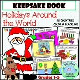 Holidays Around the World Keepsake Book: Common Core Aligned