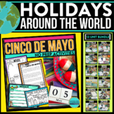 Holidays Around the World No Prep /Christmas, Scrapbook, J