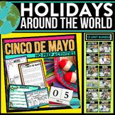 Holidays Around the World No Prep /Christmas, Scrapbook, J