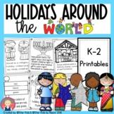 Holidays Around the World {Hanukkah, Christmas, Kwanzaa, Eid}