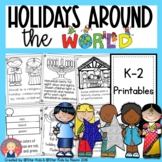 Holidays Around the World {Hanukkah, Christmas, Kwanzaa, Eid}