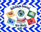 Holidays Around the World for K-1 Craftivity / Book