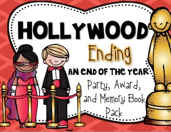 Hollywood Ending: An End of the Year Party, Award, and Memory Book Pack