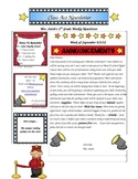 Hollywood Newsletter Teplate