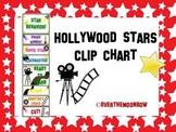 Hollywood Stars Behavior Clip Chart