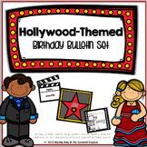 {Hollywood-Themed Birthday Bulletin Board Set}
