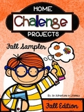 Home Challenge Projects: Fall Sampler