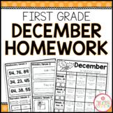 Homework Packet: First Grade   December