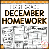 Homework Packet: First Grade | December