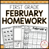 Homework Packet: First Grade | February
