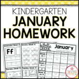 Homework Packet: Kindergarten | January