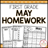 Homework Packet: First Grade | May