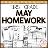 Homework Packet: First Grade   May