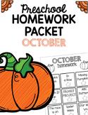 Homework Packet- October
