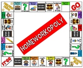 Homeworkopoly Board For Students