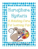 Homophone Hysteria Matching Game