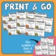 Homophones Task Cards Set 3: 32 Multiple Choice Cards for CCS L.5