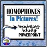 Homophones in Pictures PowerPoint