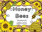 Honey Bees Homework - Scott Foresman 1st Grade