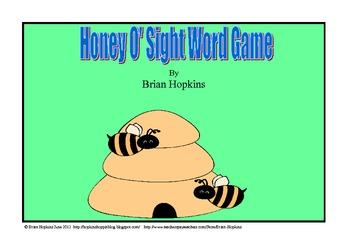 Honey O' Sight Word Game