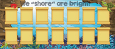 "We ""shore"" are bright! Bulletin Board"