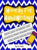 Hooray for Handwriting!