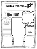 Hooray for Heroes- Biography Template
