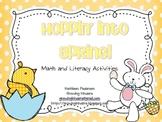 Hoppin' Into Spring! Math and Literacy Activities