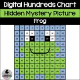 Hopping Fun Frog Hundreds Chart Hidden Picture for Math an