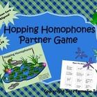 Hopping Homophones Partner Game (Common Core Aligned)