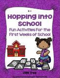 Back to School Activities for K-1