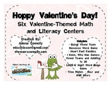 Hoppy Valentine's Day!  Six Valentine's Day Theme Math and