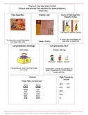 Houghton Mifflin Mini-Focus Wall Theme 7 Weeks 1-3