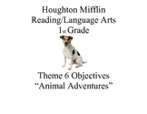 "Houghton Mifflin Reading Theme 6: ""Animal Adventures"" Prin"