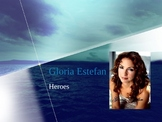 Houghton Mifflin Vocabulary PPT Gloria Estefan