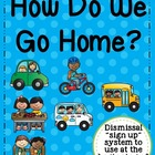 How Do You Go Home?: file folder system