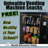 How Healthy is Your School?  How to Be a Vending Machine P