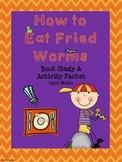 How to Eat Fried Worms Book Study & Activities Packet