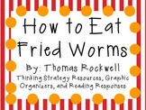 How to Eat Fried Worms by Thomas Rockwell: Characters, Plo