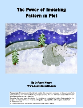 How to Teach Story Plot through Imitating Picture Books