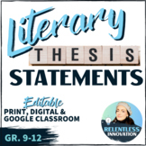 How to Write Thesis Statements Handout