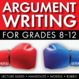 How to Write an Argumentative Essay, Argument Writing Step