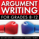 How to Write an Argumentative Essay, Argument Writing Step