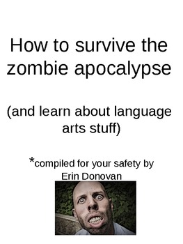 How to survive the zombie apocalypse and learn language ar