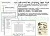 Huckleberry Finn Test Pack  Mark Twain